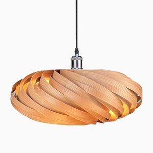 Veneria Cherry Wood Hanging Lamp