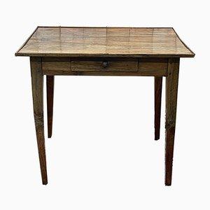 Schreibtisch aus Nussholz, 19. Jh
