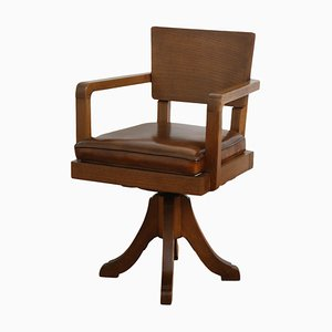 English Desk Chair, 1930s