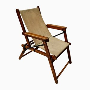 British Military Campaign Safari Chair