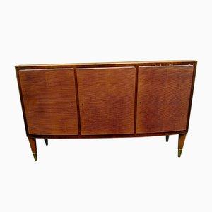 Wooden & Brass Dresser by Paolo Buffa, 1940s