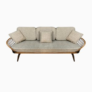 Mid-Century Model 355 Daybed or Studio Couch with Cushions from Ercol