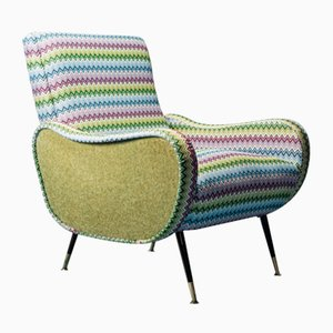 Vintage Armchair in the Style of Marco Zanuso, 1960s