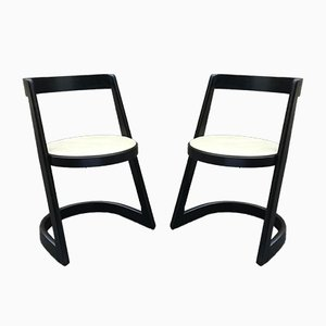 Halfa Chairs by Baumann, 1970s, Set of 2