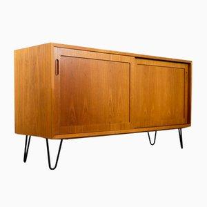 Dänisches Teak Sideboard von Carlo Jensen Hundevad & Co., 1960er