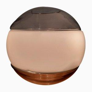 Tischlampe aus Glas von Nason Mazzega