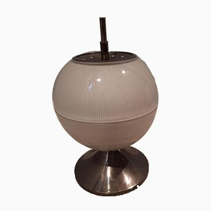 Lampe de Bureau en Laiton et en Verre par Sergio Mazza pour Artemide, 1960s