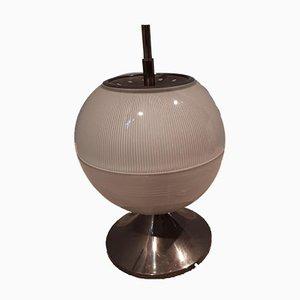 Messing und Glas Tischlampe von Sergio Mazza für Artemide, 1960er