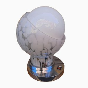 Murano Glas Tischlampe von Angelo Brotto für Esperia, 1970er
