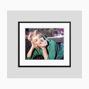 Ritratto di Marilyn Monroe con cornice nera di Baron