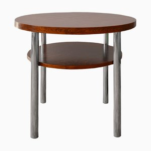 Table Basse Tchèque Bauhaus de Mücke Melder, 1930s