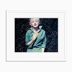 Monroe verde con cornice bianca di Baron