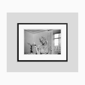 Quiet Moment Silver Gelatin Resin Print Framed in Black by Ed Feingersh for Galerie Prints