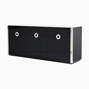 Mid-Century Modern Sideboard by Willy Rizzo for Mario Sabot, Italy, 1970s