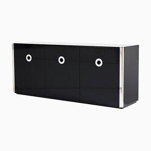 Mid-Century Modern Sideboard von Willy Rizzo für Mario Sabot, Italien, 1970er
