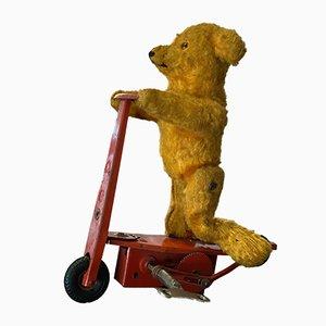 Jouet Décoratif 'Bear on Scooter' en Étain de FeWo