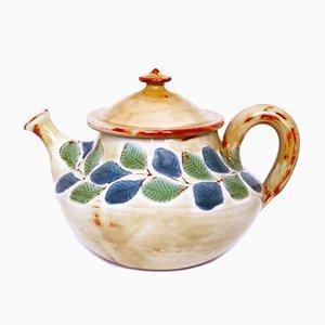 Mid-Century Keramik Teekanne von Jean-Claude Malarmey