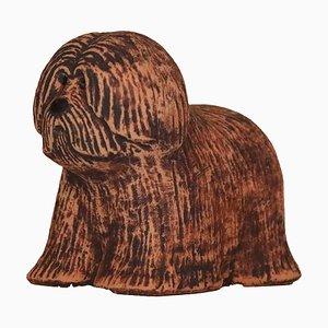 Skandinavische Vintage Rufus Hund oder Welpe Figur von Lisa Larson für Rörstrandsfabriken