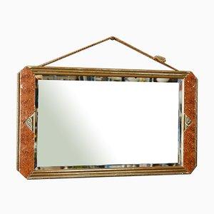 Französischer Art Deco Spiegel