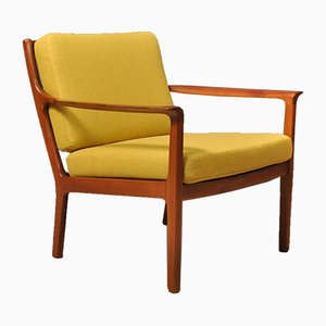 Mid-Century Nordic Lounge Chair by Fredrik A. Kayser