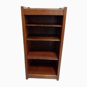 Small Vintage Oak Bookcase