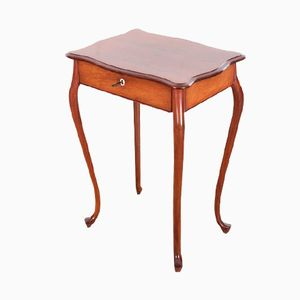 Danish Mahogany Sewing Table by Frits Henningsen, 1940s