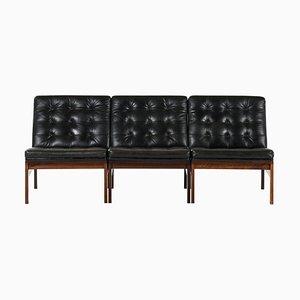 Model 175 / Moduline Seating Group by Ole-Gjerløv Torben Knudsen & Lind for France & Søn / France & Daverkosen, Set of 3