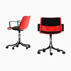 Sedia da ufficio modello Modus di Osvaldo Borsani per Tecno, Italia