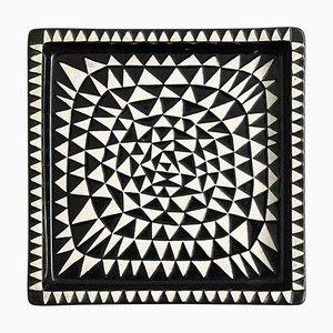 Modell Domino Tablett von Stig Lindberg für Gustavsberg, Schweden