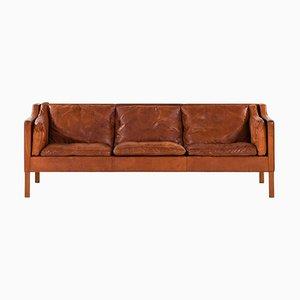 Modell 2213 Sofa von Borge Mogensen für Fredericia Furniture, Dänemark