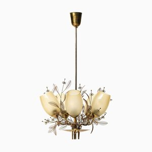 Model 9029/5 Ceiling Lamp by Paavo Tynell for Taito Oy, Finland