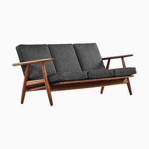 Modell GE-240 / Cigar Sofa von Hans Wegner für Getama, Dänemark