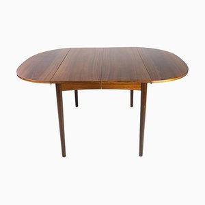 Dining Table with Extension in Rosewood by Arne Vodder, 1960s