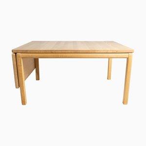 Danish Beech Wood Coffee Table from Rubby