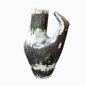 Französische Vintage Keramik Vase / Karaffe von Jacques Blin, 1950er