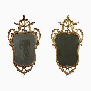 Specchi Barocchetto Lombarde, set di 2