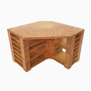 Niederländischer Sperrholz Schreibtisch