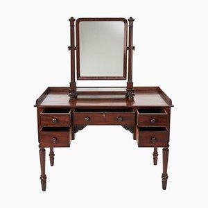 19th Century Mahogany Dressing Table