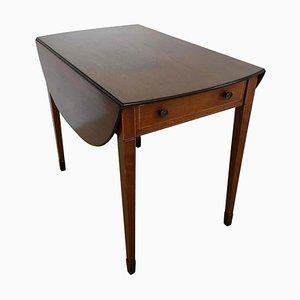 Antique Inlaid Mahogany Table