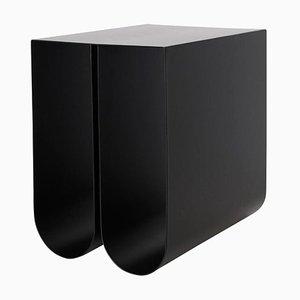 Table d'Appoint Incurvée Noire par Kristina Dam Studio