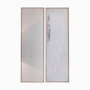 Amara & Farblose Sky Wandteppiche von Nathalie Van Der Massen, 2er Set