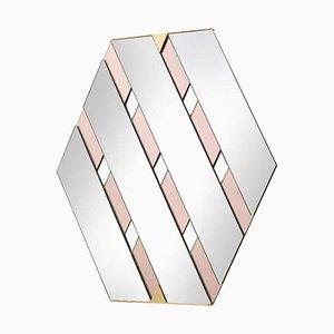 Pinker Tresse Spiegel von Mason Editions