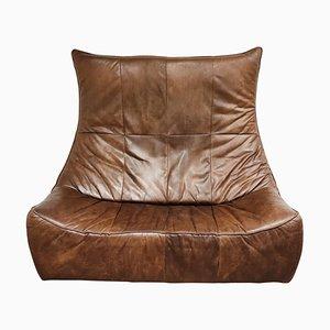 Vintage Leather The Rock Sofa by Gerard Van Den Berg for Montis, 1970s
