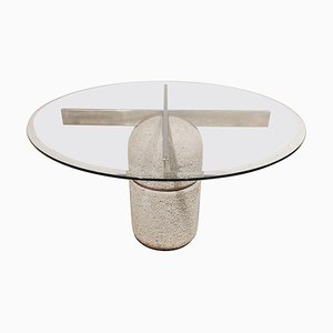 Paracarro Dining Table by Giovanni Offredi for Saporiti, 1970s