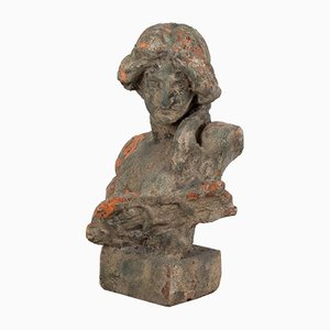 Buste de Dame en Terracotta