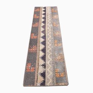 Vintage Turkish Oushak Wool Carpet