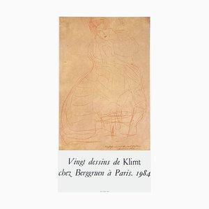 Affiche Expo 84 Chez Berggruen par Gustav Klimt