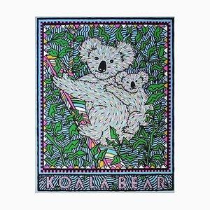 Koala Bear, Endangered by Felice Regan