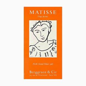 Póster de Expo 85 Berggruen Et Cie de Henri Matisse