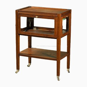 Oak Side Table, 1920s